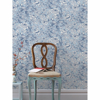 Picture of Beaufort Light Blue Peony Chinoiserie Wallpaper