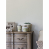 Picture of Marblehead Dove Crosshatched Grasscloth Wallpaper