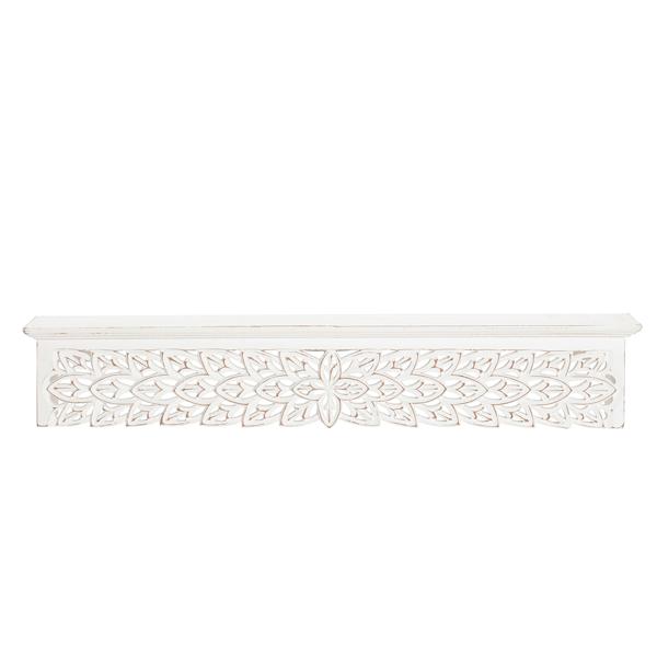 Picture of Gaudin White 30in Decorative Shelf