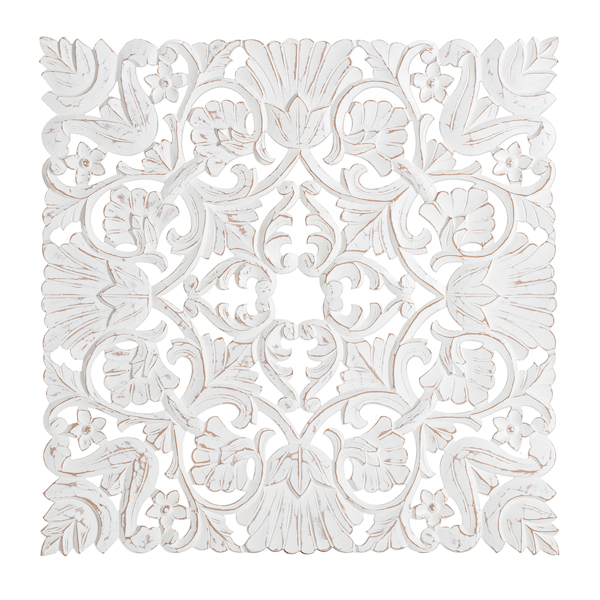 Picture of Bayton White 30in Square Medallion