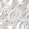 Picture of Barley White 30in Round Medallion
