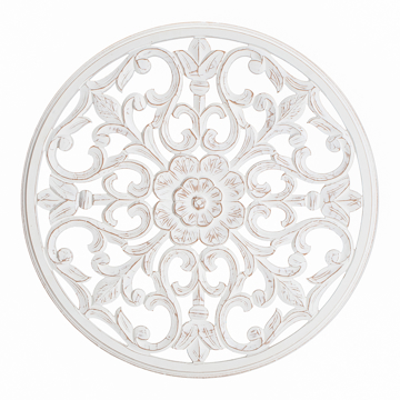 Wood Wall Art Brewster Home Fashions, Round White Wood Wall Decor