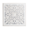 Picture of Maia White Carved Mirrored Medallion