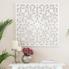 Picture of Beakman White 30in Square Medallion