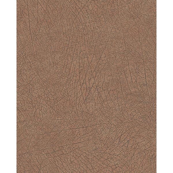 Picture of Latigo Copper Leather Wallpaper