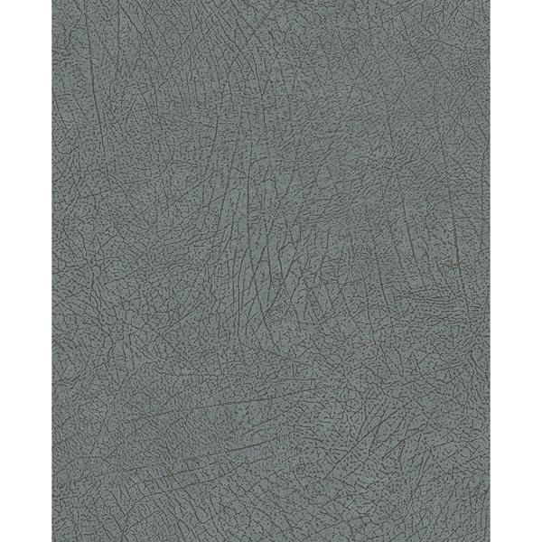 Picture of Latigo Light Blue Leather Wallpaper