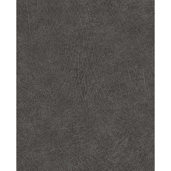 Picture of Latigo Charcoal Leather Wallpaper