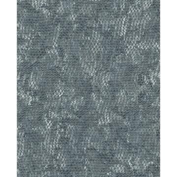 Picture of Viper Light Blue Snakeskin Wallpaper