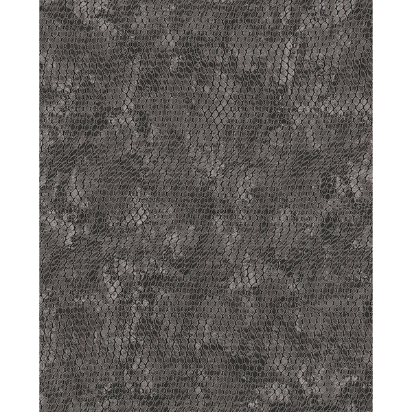 Picture of Viper Charcoal Snakeskin Wallpaper