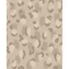 Picture of Javan Taupe Leopard Wallpaper