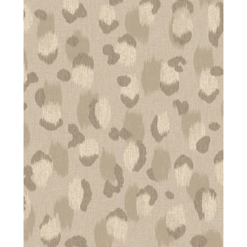 Picture of Javan Taupe Leopard Wallpaper