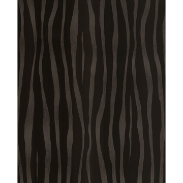 Picture of Burchell Chocolate Zebra Flock Wallpaper