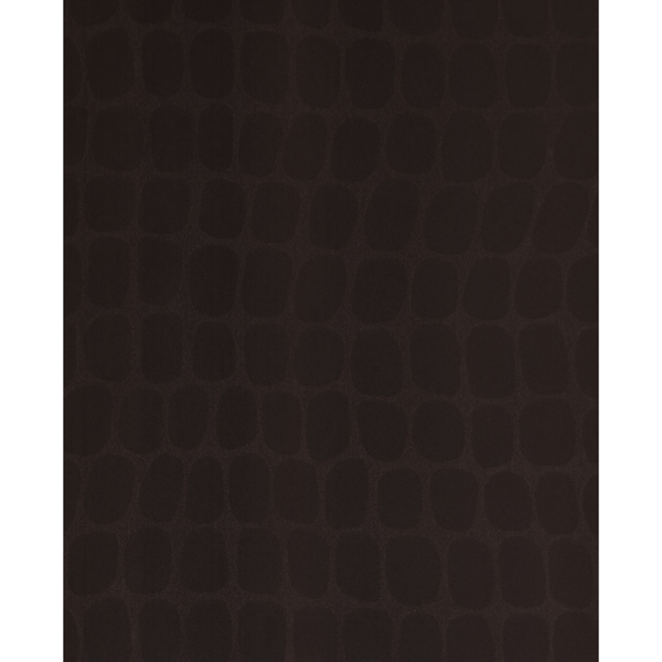 Picture of Hyde Mahogany Graphic Croc Flock Wallpaper