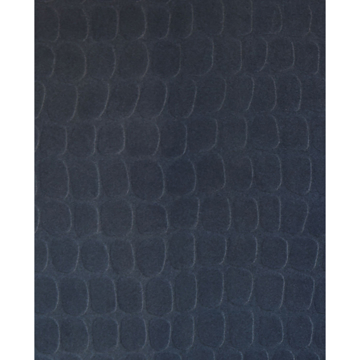 Picture of Hyde Indigo Graphic Croc Flock Wallpaper