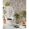 Picture of Zebra Black and White Wall Mural
