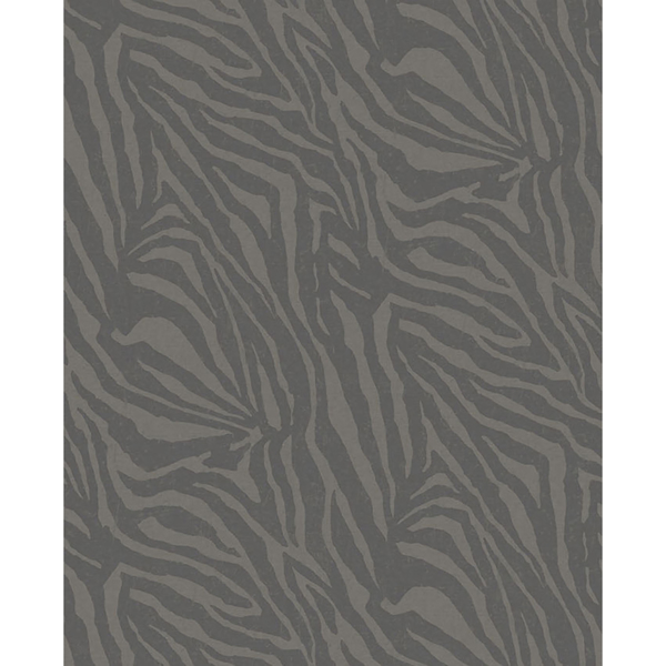 Picture of Zebra Black Wall Mural