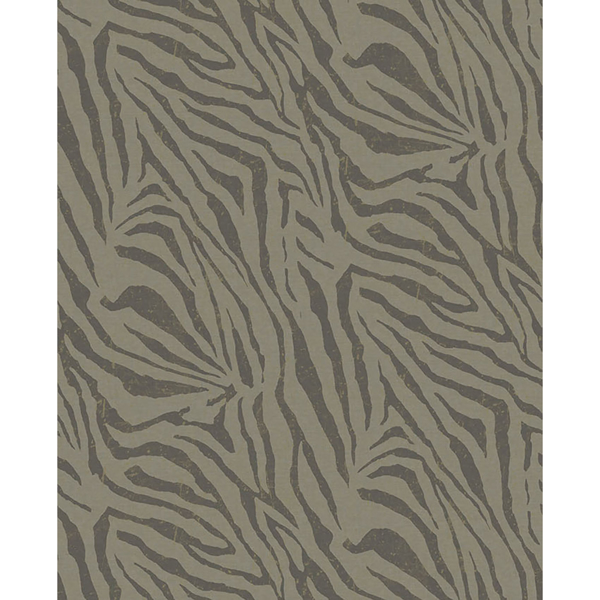 Picture of Zebra Olive Wall Mural