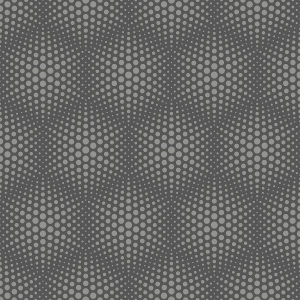 Picture of Milo Dark Grey Bubble Geometric Wallpaper