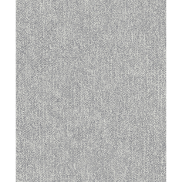 Picture of Everett Silver Distressed Textural Wallpaper