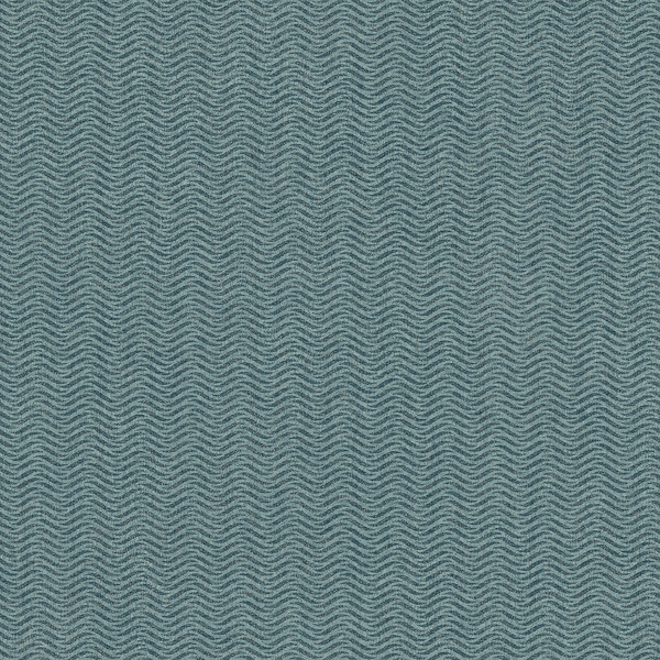 Picture of Jude Teal Woven Waves Wallpaper