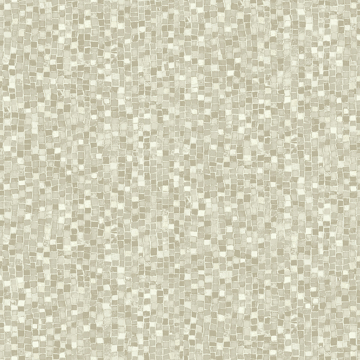 Picture of Ziggy Taupe Stone Mosaic Wallpaper