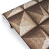 Picture of Dax Copper 3D Geometric Wallpaper