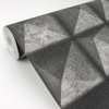 Picture of Dax Black 3D Geometric Wallpaper