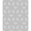 Picture of Xander Grey Glam Geometric Wallpaper