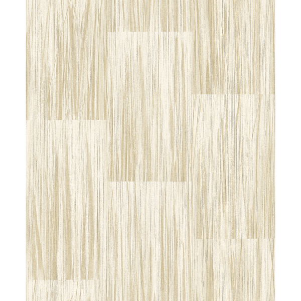 Picture of Soren Butter Striated Plank Wallpaper