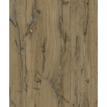 Picture of Jackson Light Brown Wooden Plank Wallpaper