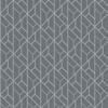 Picture of Wilder Grey Geometric Trellis Wallpaper