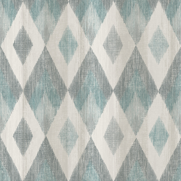 Picture of Ace Teal Diamond Wallpaper