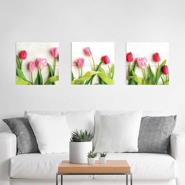 Picture of Hello Tulips 3D Foam Wall Art
