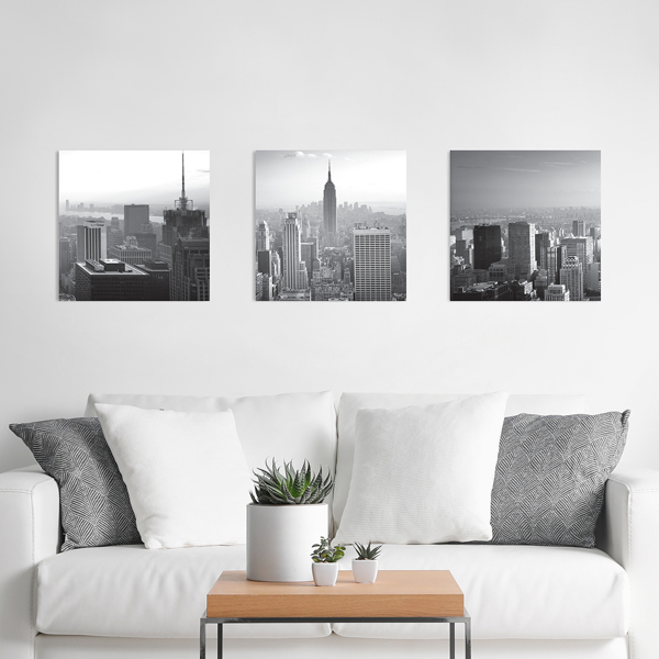 Picture of City Skyline 3D Foam Wall Art