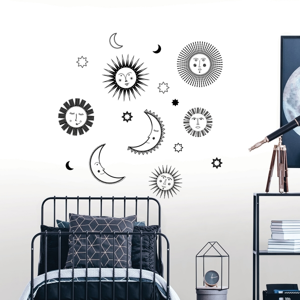 Picture of Sun Faces Wall Decals