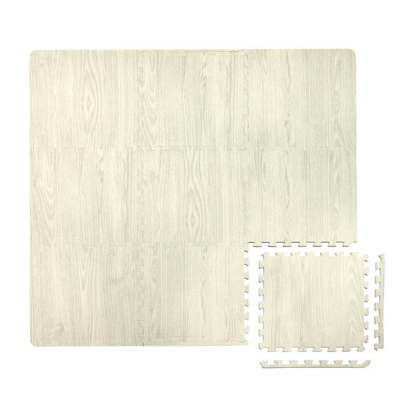 Picture of White Oak Interlocking Floor Tiles