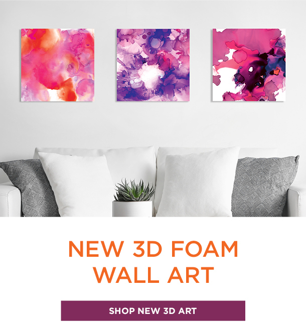 3D Foam Wall Art