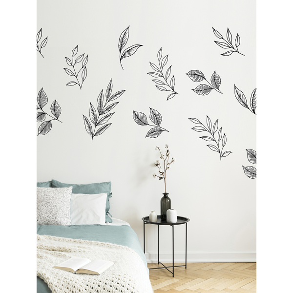 Picture of Love Karla Designs Brushwood Leaves Wall Decals