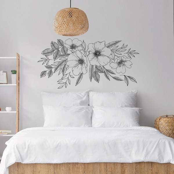 Dwpk3903 Love Karla Designs Wild Blossoms Wall Decals By Love Karla