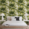 Picture of Summer Palm Green Tropical Wallpaper