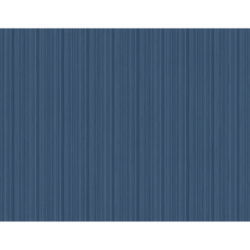 Picture of Sebasco Denim Vertical Pinstripe Wallpaper