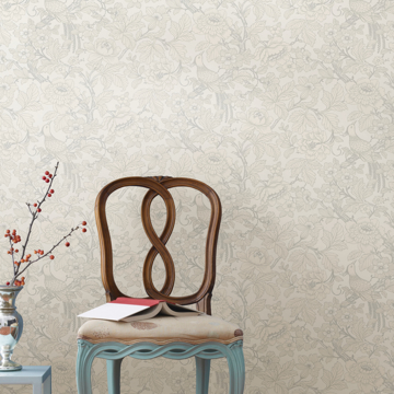 Picture of Beaufort Dove Peony Chinoiserie Wallpaper