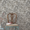Picture of Beaufort Black Peony Chinoiserie Wallpaper