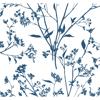 Picture of Southport Indigo Delicate Branches Wallpaper