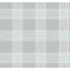 Picture of Scarborough Grey Striated Plaid Wallpaper