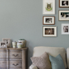 Picture of Marblehead Grey Crosshatched Grasscloth Wallpaper