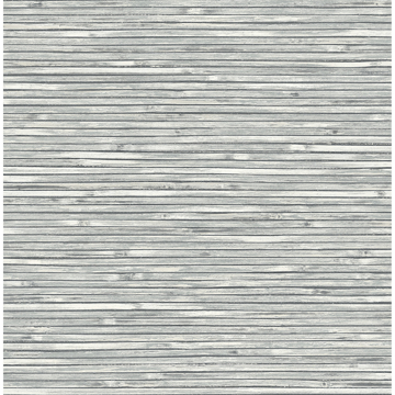 Picture of Bellport Dark Grey Wooden Slat Wallpaper