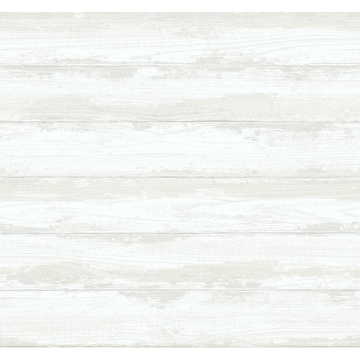 Picture of Truro Bone Weathered Shiplap Wallpaper