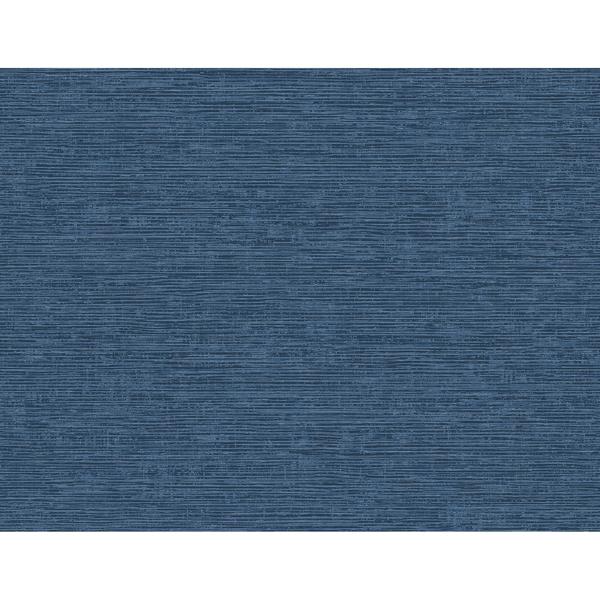 Picture of Tiverton Indigo Faux Grasscloth Wallpaper