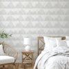 Picture of Grey Mountain Peak String Peel and Stick Wallpaper